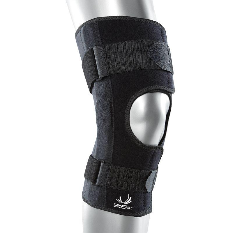 05e1d7ee00 BioSkin Hinged Knee Skin Front Closure Open Patella - USL Sport
